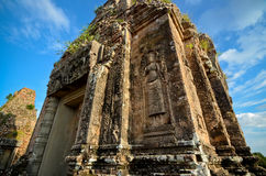 Old Temple Angkor Royalty Free Stock Images