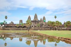 Old temple in Angkor Wat Royalty Free Stock Images