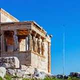 The Old Temple of Athena Stock Images