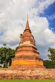 Old Temple of Ayuthaya Royalty Free Stock Photography