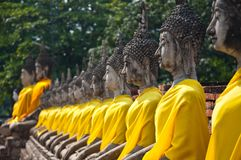 Old Temple of Ayutthata, Thailand Stock Photo