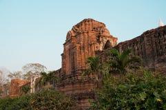 Old temple ayutthaya. Old temple red brick ayutthaya Royalty Free Stock Photos