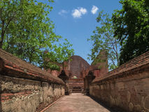 Old temple in Ayutthaya Royalty Free Stock Photo
