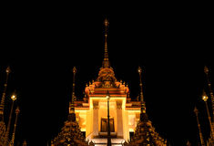 The old temple in Bangkok Royalty Free Stock Photography