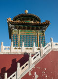 Old temple in Beihai park Royalty Free Stock Images