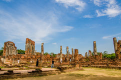 Old Temple blue sky Royalty Free Stock Photography
