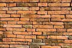 Old temple brick wall Royalty Free Stock Photo