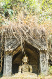 Old temple in Chiangmai Thailand Royalty Free Stock Photos