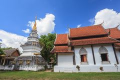 Old temple at Chiangmai Thailand Stock Image