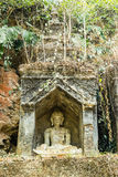 Old temple in Chiangmai Thailand Stock Photos