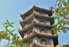 Old temple in chinese style Royalty Free Stock Images