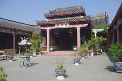 Old Temple in Hoi An Stock Photography