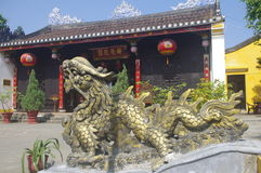 Mystical Chinese dragon Royalty Free Stock Images