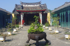Old Temple in Hoi An. UNESCO World Heritage Site. Vietnam, Asia Royalty Free Stock Photos