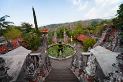 Old temple. Indonesia, Bali. Royalty Free Stock Images