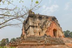 Old Temple in Sagaing Mandalay, Myanmar Mar 2017 royalty free stock photo