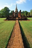 Old temple in Srisatchanalai Royalty Free Stock Photos
