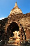 Old temple in Srisatchanalai Stock Image