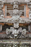 Old temple in Ubud Monkey Forest, Bali island Royalty Free Stock Images