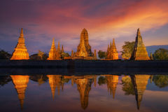 Free Old Temple Wat Chaiwatthanaram Stock Photo - 59265360