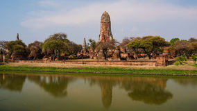 Old temple of Wat Phra Ram, Ayutthaya Stock Photo
