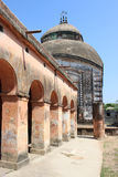 Old temple. In West Bengal, India Royalty Free Stock Photography