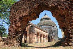 Old temple. In West Bengal, India Stock Photography