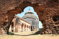Old temple. In West Bengal, India Royalty Free Stock Images