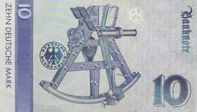 Old Ten Deutschmark Banknote, Bill Stock Photos