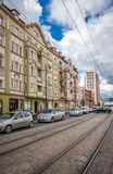 Old Tenement Houses In Bydgoszcz Royalty Free Stock Photo
