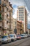Old Tenement Houses In Bydgoszcz Stock Photos