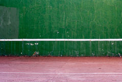 Old tennis backboard Stock Images
