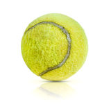 old tennis ball Stock Photography