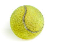 old tennis ball Royalty Free Stock Photo