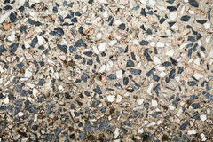 Old terrazzo floor pattern Royalty Free Stock Image