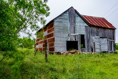 Old Texas Farm Building Royalty Free Stock Photography