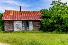 Old Texas Farm Building Stock Photo