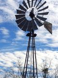 Old Texas windmill still standing tall royalty free stock photos