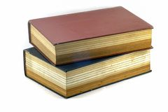 Old Text books or Bible. Few Old Text books or Bible stock image