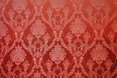 Old textile wall covering Stock Photo