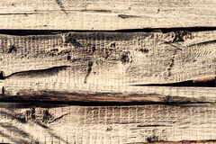 Old textural background wooden rough surface Stock Images