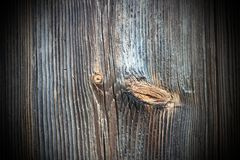 Old texture of knotted  wood Royalty Free Stock Images