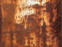 Old texture of rusty metal Royalty Free Stock Images