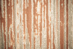 Old Texture and rusty zinc fence Stock Image