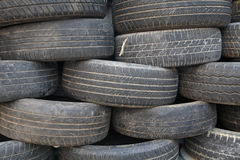 Old texture tire Royalty Free Stock Image