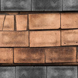 Old texture wall tile background surface pattern Stock Image