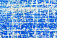 Old textured blue textile Royalty Free Stock Images
