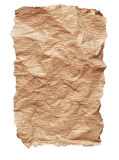 Old textured cardboard sheet Royalty Free Stock Photography