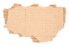 Old textured cardboard Royalty Free Stock Photo
