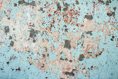 Old textured colorful wall with stains Stock Photo